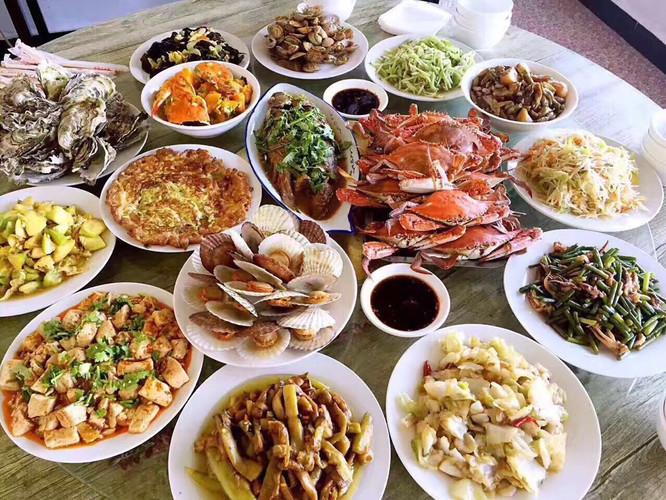 海鲜美食666_500信丰美食节图片
