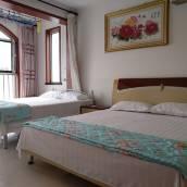 青島金沙灘範範美麗的海景公寓(4號店)